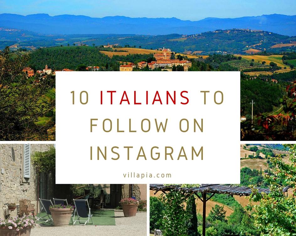 10 Italians on Instagram