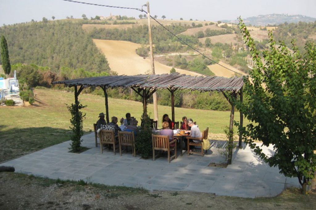 writers retreat in Italy