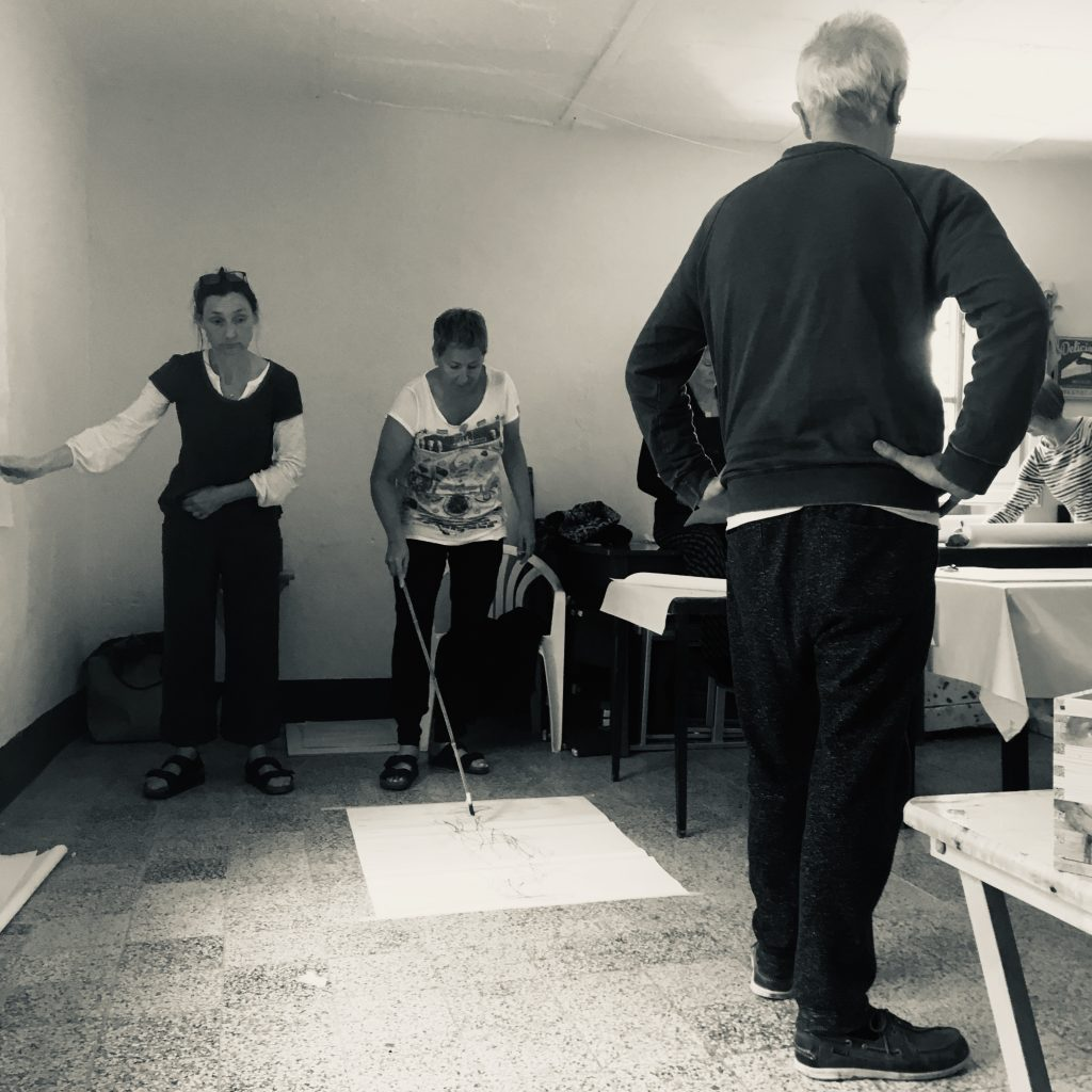Drawing Breath - Dynamic life drawing workshop at Villa Pia