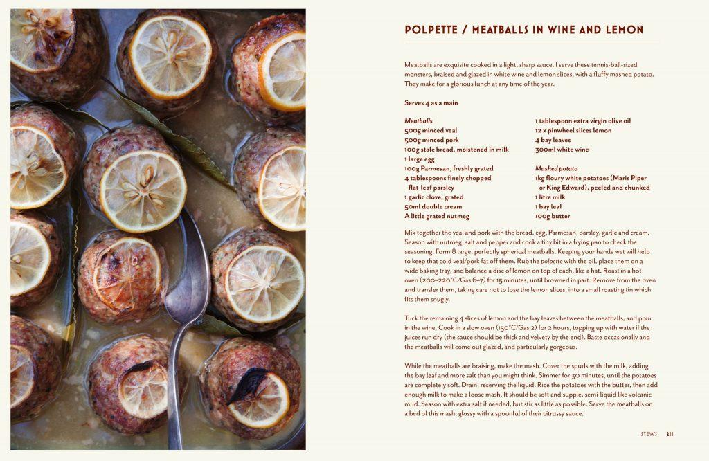 Bocca di Lupo cookbook page