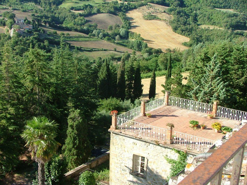 Villa Pia views