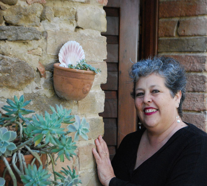 Judy Witts of Over a Tuscan Stove