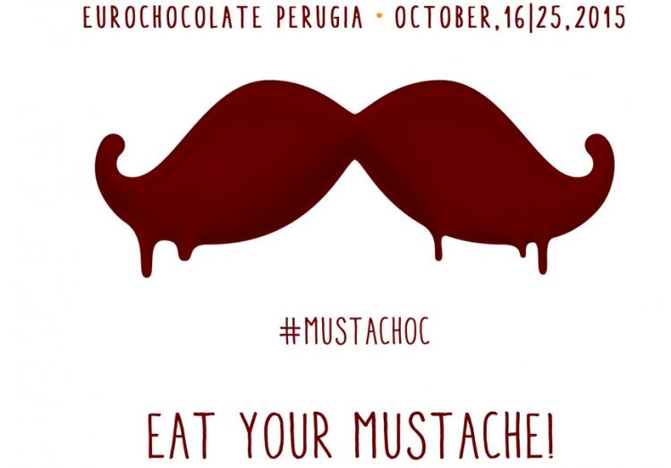 Eurochocolate MustaChoc