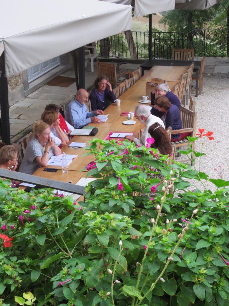 Art and writing holidays at Villa Pia