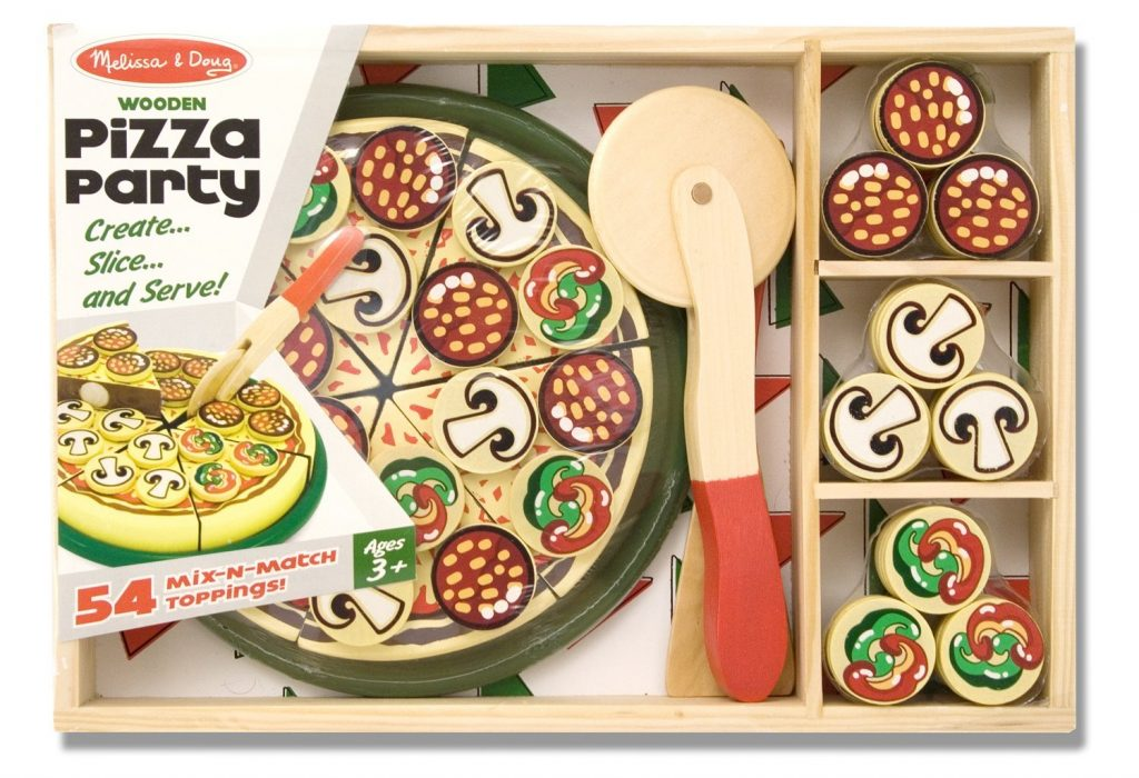 Melissa and Doug Wooden Pizza Party