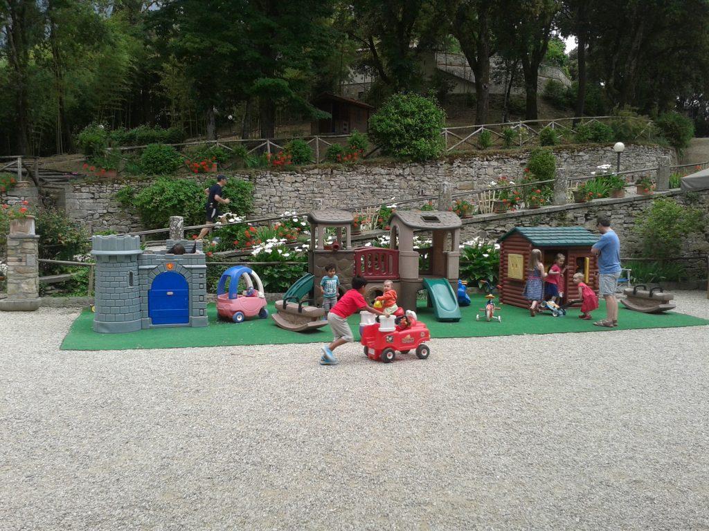 Villa Pia kids play area