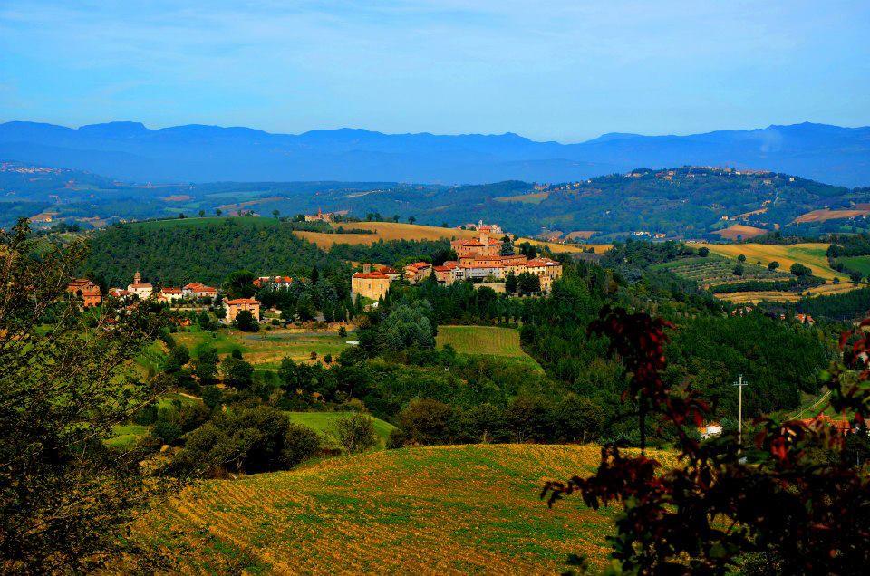 Villa Pia countryside