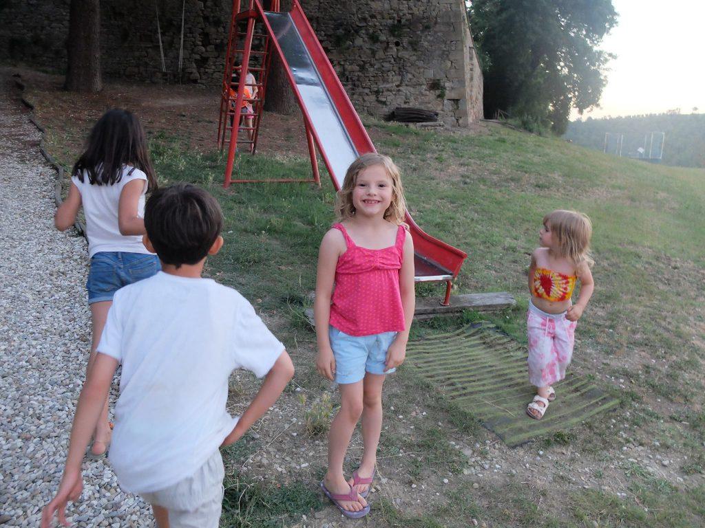 Villa Pia kids slide