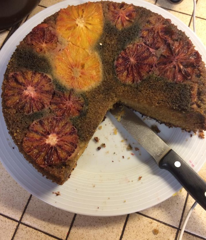 Villa Pia polenta cake