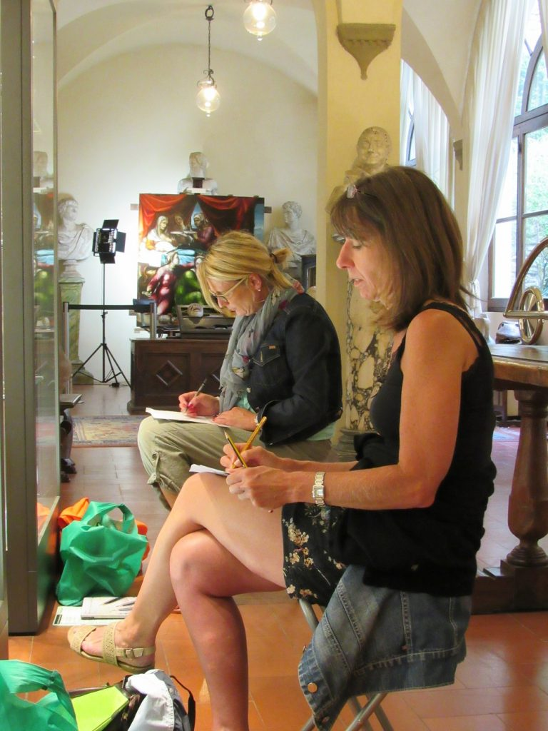 Arts Holidays Italy painting in Arezzo