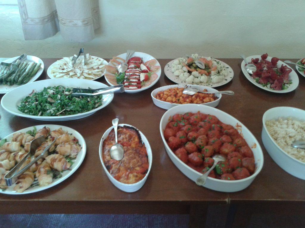 Villa Pia recipes